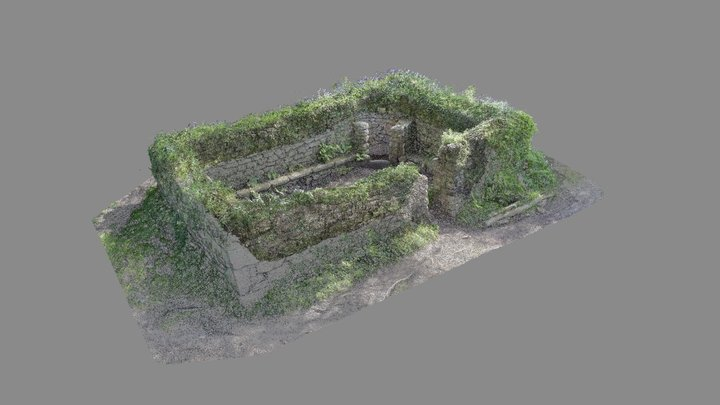 Madron Baptistry - point cloud 3D Model