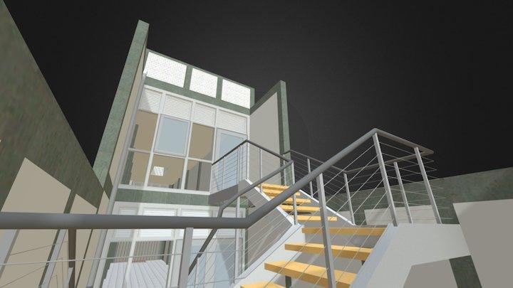 Local Comercial dos niveles 3D Model