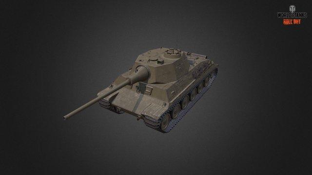 Skoda T40 3D Model