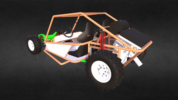 Peach Desert Cambios (2) 3D Model
