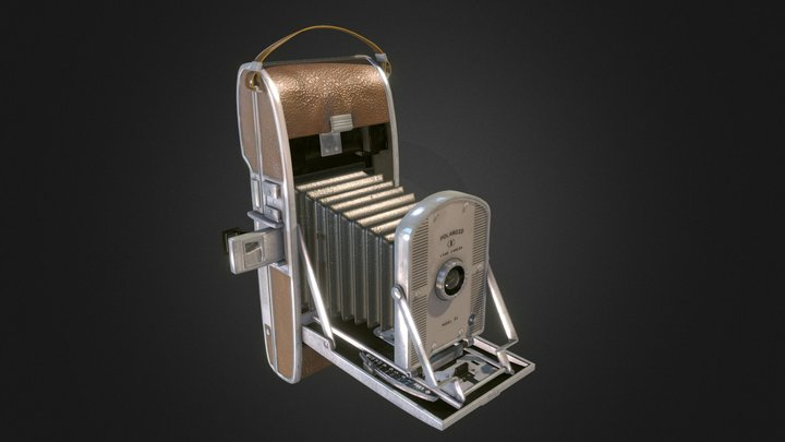 PolaroidCamera - GameAsset 3D Model