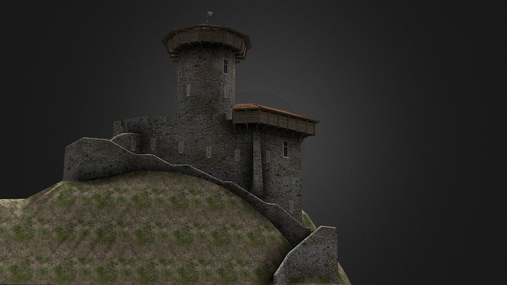 TOUR REGINE 3D Model