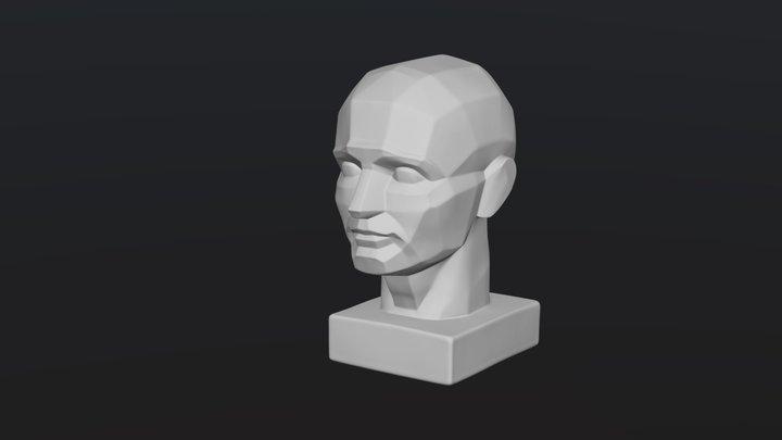 Planar head by Oleg Toropygin 3D Model
