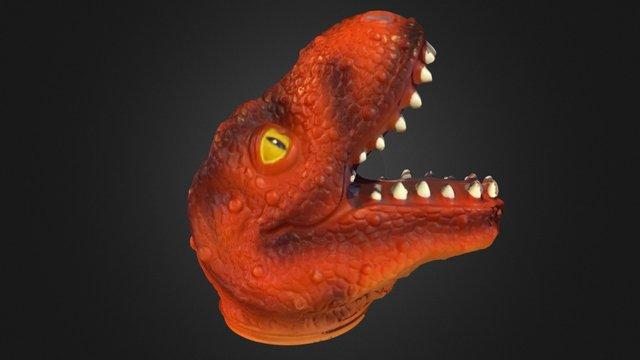360 Degree Dino Mesh - 2 3D Model