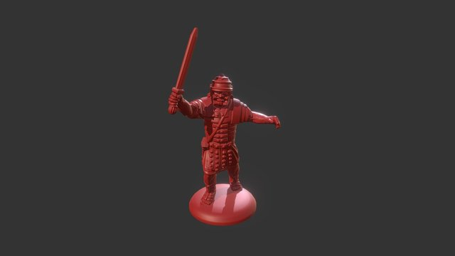 Roman Test Pose - 001 3D Model