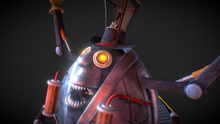 The Titancount - 'Pressure Overdrive' 3D Model