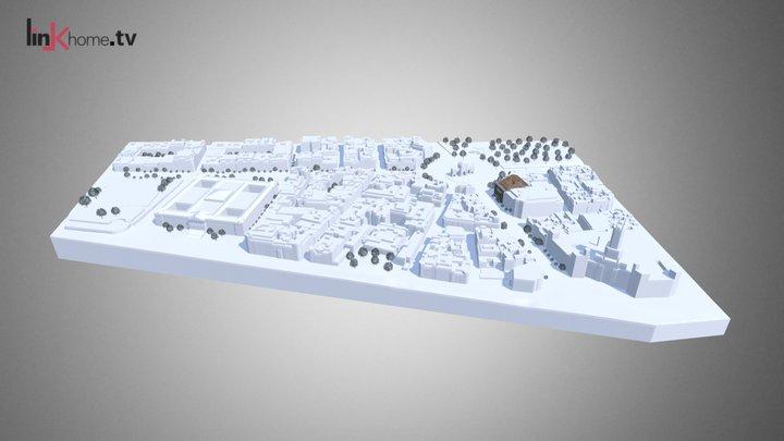 Modelo 3D Navegable - Puerta Alcalá. Alrededor 3D Model