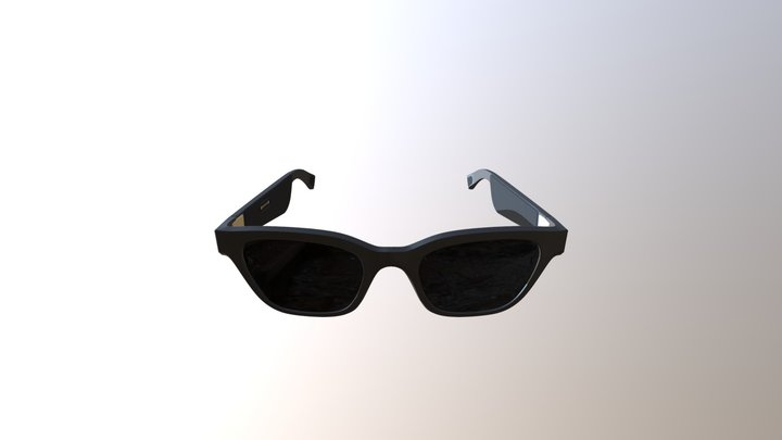 BOSE  FRAMES  ALTO  AUDIO SUNGLASSES 3D Model