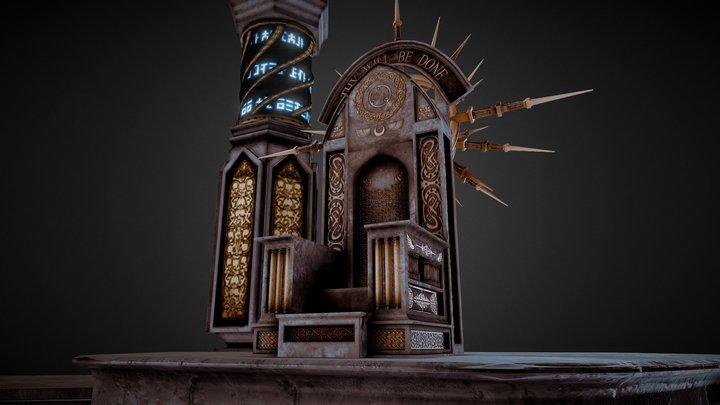 Interdimensional Throne 3D Model