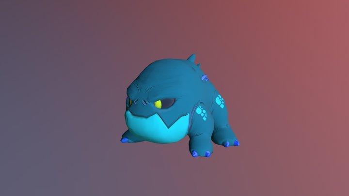 Poison Frog 3D Model