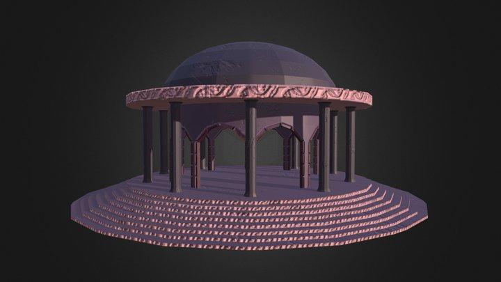 Council Room 3D Model