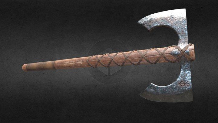 Viking Axe Riverheart 3D Model