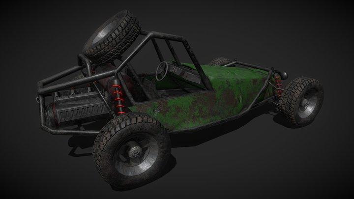 Dirt Buggy 3D Model