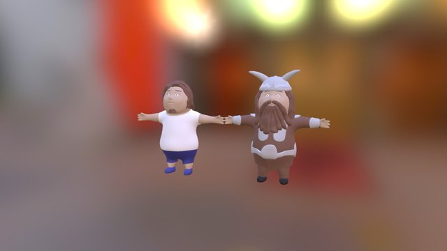 boy_boroda 3D Model