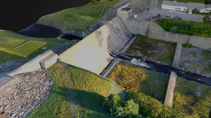 Buffumville Dam 3D Model