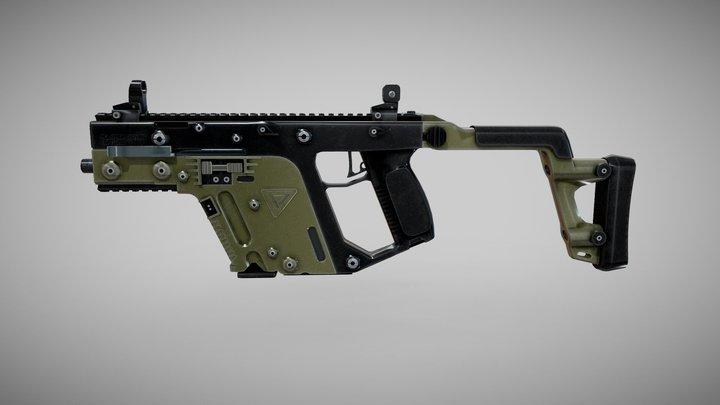 VECTOR | SMG| | PUBG | 3D Model