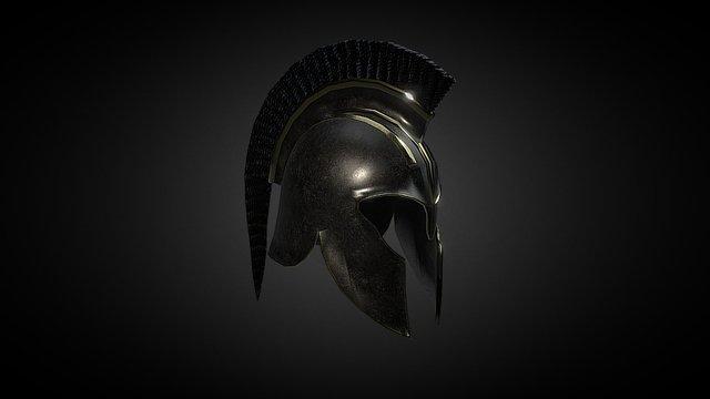 Achilles' Helmet 3D Model