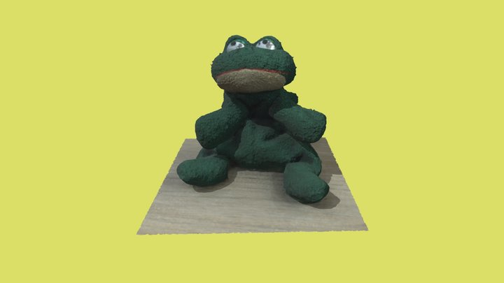 Funny Frog | Photogrammetry 3D Model