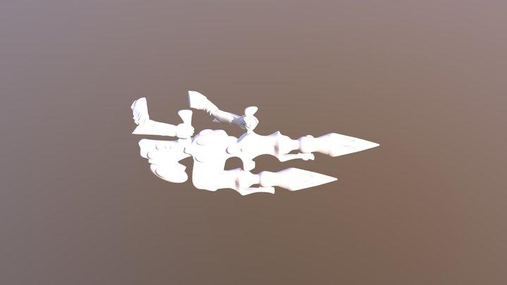Dark Reaper Tempest 3D Model