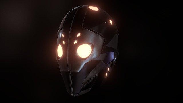 Division Helmet 3D Model
