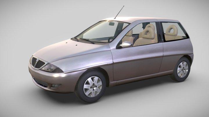 Lancia Y (840), 2000 3D Model