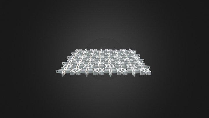 Tile Surface 3D Model