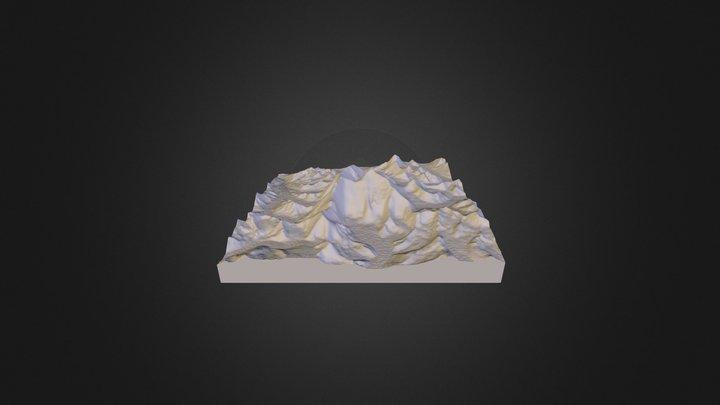 Mount_Everest 3D Model