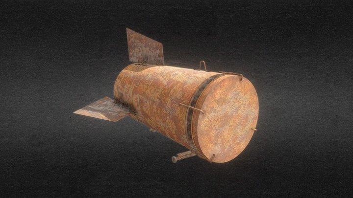 Barrel Bomb (2) 3D Model