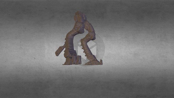 rob legs 3D Model