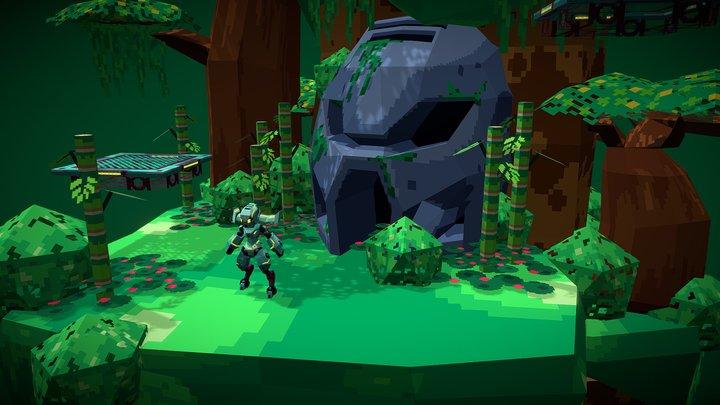 Technic Ranger: Jungle 3D Model