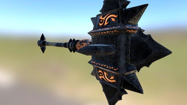 Mace from Skyrim 3D Model