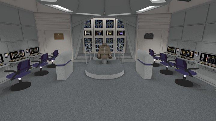 Star Trek: Sutherland Bridge 3D Model