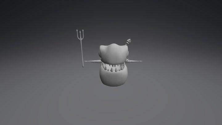 Joe piraña 3D Model