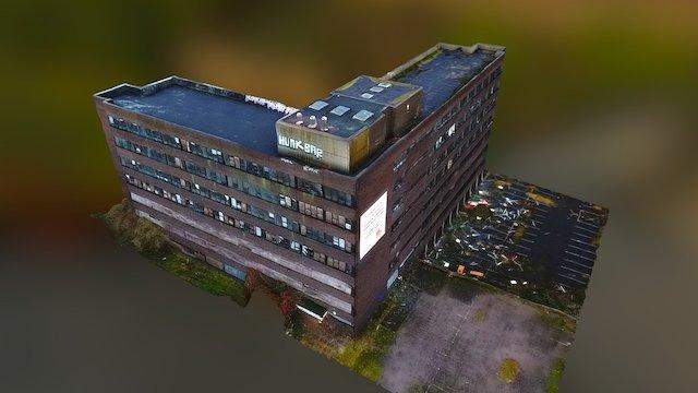 Cavendish House Dudley - Drone 3D Model 3D Model