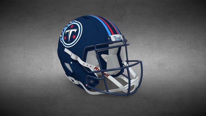 Tennessee Titans Helmet Concept 3D Model