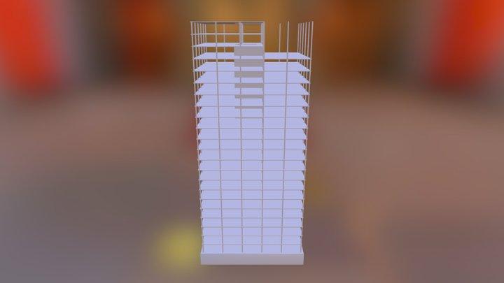 Unfinished Skyscraper 3D Model