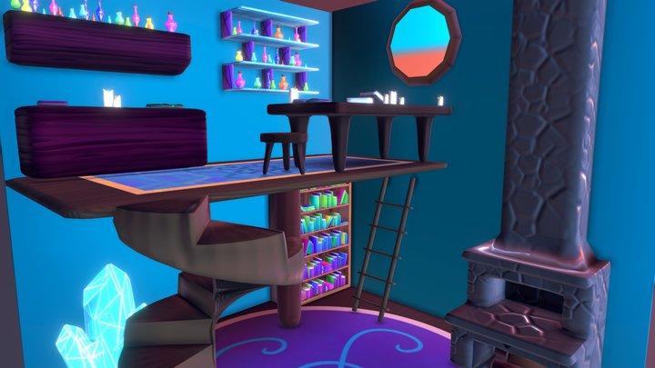 Alchemy room 3D Model
