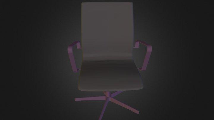 Armchair of N060114 3D Model