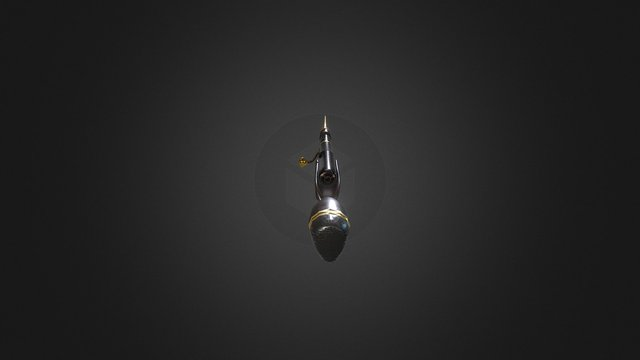 "Warframe TennoGen Rifle Concept ""Boltonne"" 3D Model"