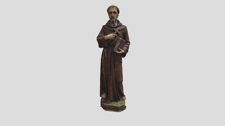 Figura św. Franciszka z Asyżu - MHK E 3232M_3D 3D Model