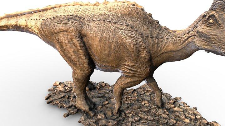 Амурозавр Рябинина | Amurosaurus riabinini 3D Model