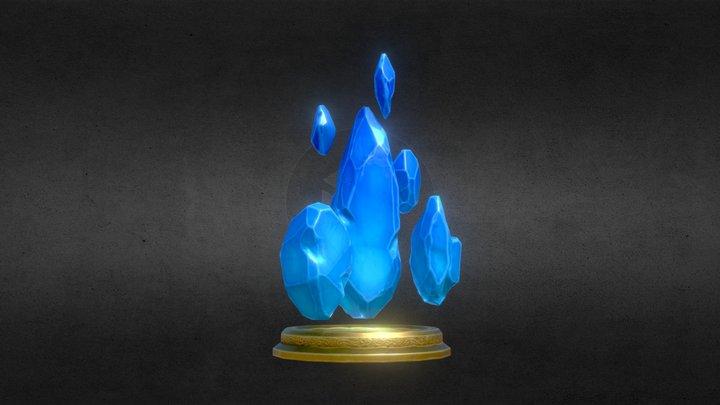 the Magic Crystal 3D Model