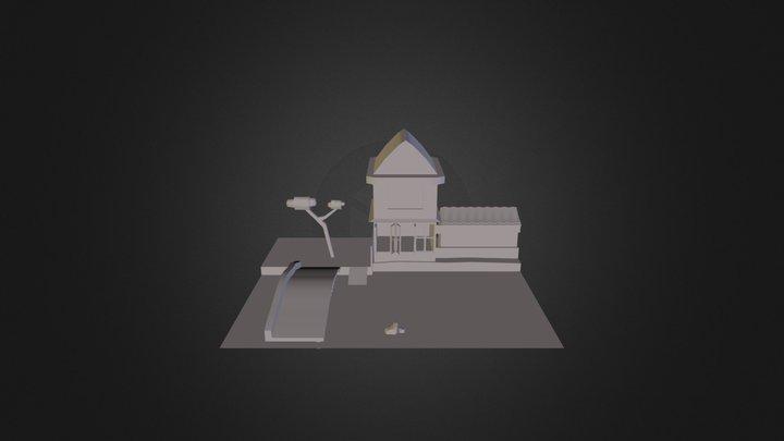 Mcmillan River Scene 3D Model