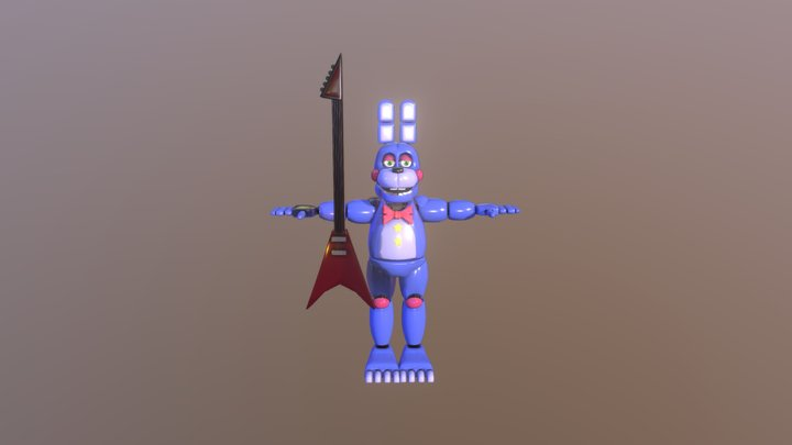 Rockstar bonnie 3D Model