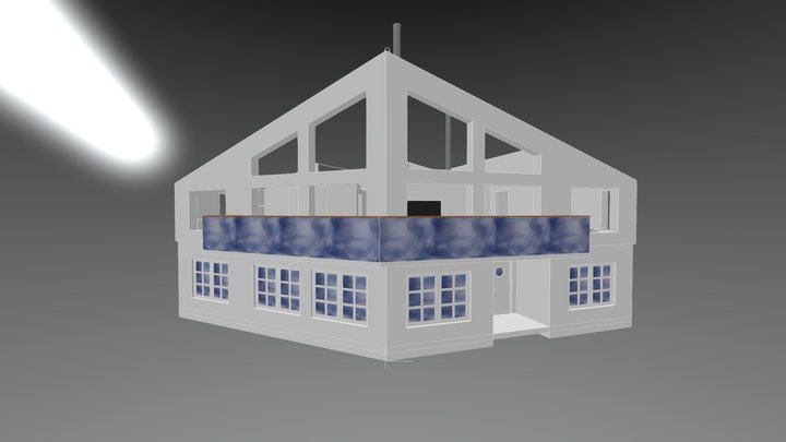 Åre-Överplan 3D Model