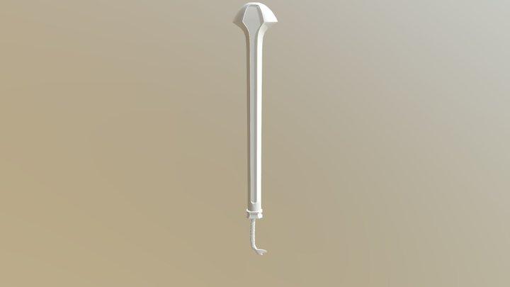 Weapon 04 Draft2 3D Model