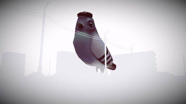 Slavic dove 3D Model