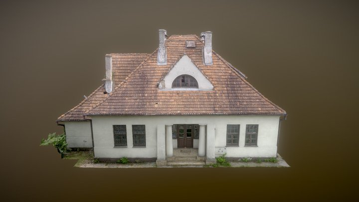 Old house - photogrammetry 3D Model