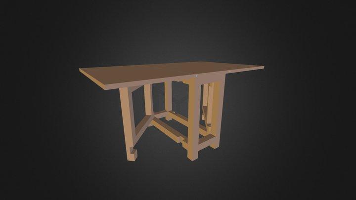 WMLogistic_PremierProjet_tableApoint_SU8 3D Model