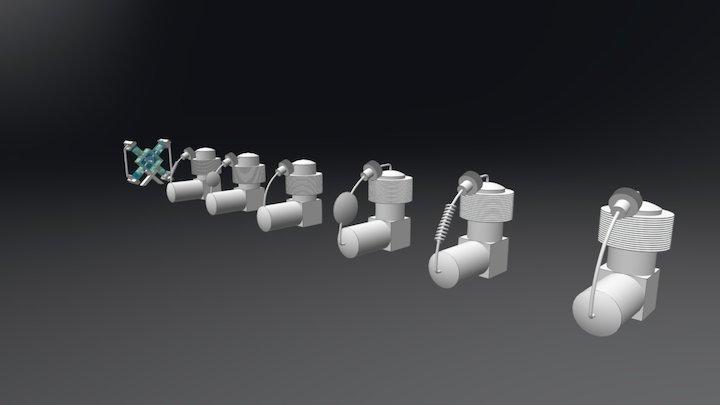 Stirling Alpha 3D Model